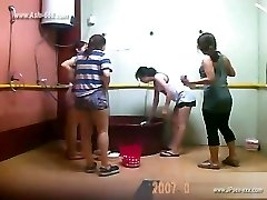 ###ping chinese women bathing