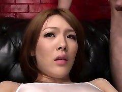 Facial to end Reis mischievous porn adventure
