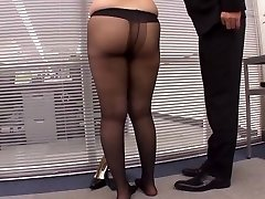 Voluptuous Legs Straight No Panties Stocking