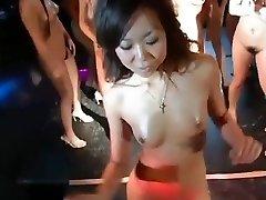 daiya & japan gogo girls super gang striptease dance joy