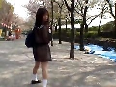 Mikan Impressive Asian schoolgirl enjoys part1
