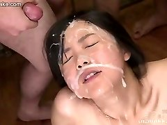 Chinese nubile Kotomi uncensored bukkake