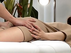 Asian Hardcore Rectal massage and penetration