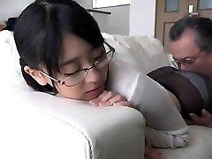 Sexy Japanese Asian Amateur lengthy hair sister
