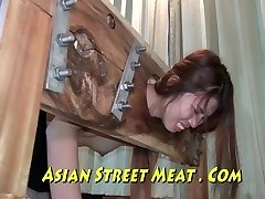 Ejaculated Up Her Sweet Chinese Ass Fuck-hole