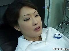 Cosplay Porn: Asians Nurses Cosplay Japanese MILF Nurse Plowed Doctors Office part 1