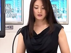 Beautiful Female Announcer