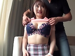 Busty beauties who are sensitive to orgasm many times