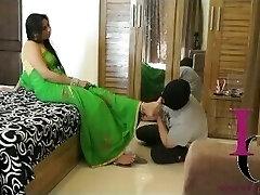 Indian Dominatrix Foot Slave