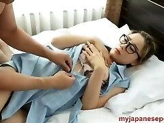 glass korean pummel at hotel