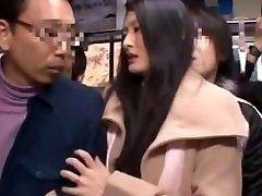 Risa Murakami, Madoka Kitahara in Banged In Front Of Husband