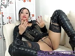 Asian PornbabeTyra Gives You Kinky Domination