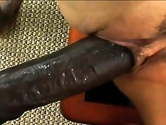 Smoking hot Asian bitch has a black penis to ride