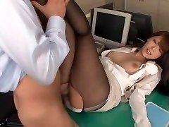 Amazing Japanese slut Ria Horisaki in Best Asslicking, Stockings JAV scene