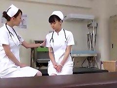 Exotic Asian nymph Akari Asakiri, Nachi Sakaki, Yuki Aoi in Epic Nurse, Medical JAV video