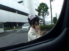 Super sexy Japanese nurses deepthroating