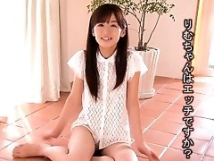 Lil' Rimu Sasahara squirts when fingered then gets romped