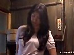 Milf Finger-banging Herself Having Orgasm On The Floor In The Kitchen