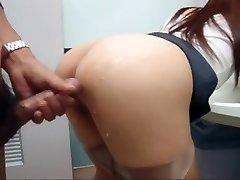 בחורה יפנית דפוק בציבור