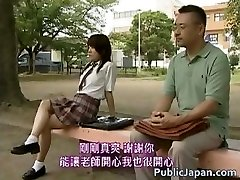 Japanese model has super-fucking-hot public sex part2