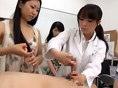 Astounding Japanese slut Airi Hayasaka, Kyouko Maki, Sayo Nakamoto in Mischievous POV JAV scene