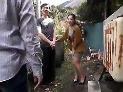 Japanese Nubile Night Outdoor Pussyfingering