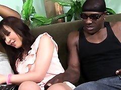 Marica Hase squirts kuigi DP ' d, mida Black Cocks