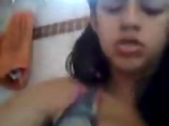 Indian Girl masturbate so rock-hard