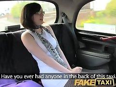 FakeTaxi She enjoys riding a big stiffy on the backseat