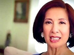 64 year elderly Milf Kim Anh talks about Anal Invasion Sex