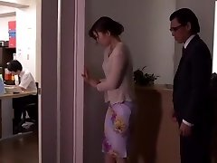 Best Chinese chick Natsume Inagawa in Astounding Toys, Office JAV scene