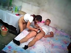 Chinese John With Young Escort