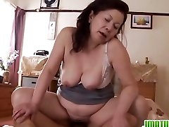 Mature Chizuru Moans Firm From A Rock Hard Fuckin