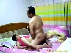 Amateur Mature Asian couple