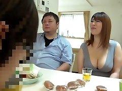 Naughty Japanese nymph Yui Sakura, Nao Nazuki in Hottest big tits, compilation JAV vid