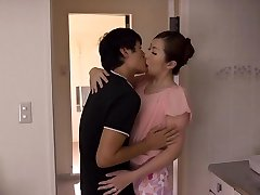 Aoi Aoyama in Cougar Wants To Fuck Her Stepson's Friend - MilfsInJapan