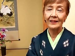 Japanese 70years elderly granny fucked