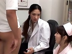 Exotic Japanese lady Rina Fukada, Haruna Saeki, Maki Mizusawa in Best Cumshot, 3some JAV movie