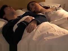 JAV wife having affair with husbands manager