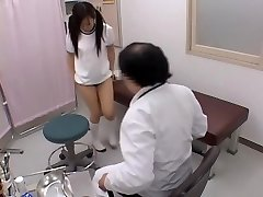 Sexy japanese is fingerblasted hard by her naughty gynecologist