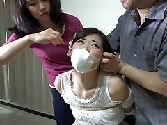 asian girls corded and gagged