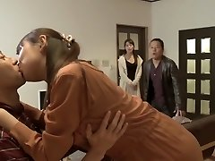 Exotic Japanese chick in Fabulous Group Sex, Wife JAV video