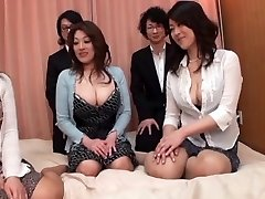 Japanese AV Models are into a super hot and ultra-kinky face-sitting and more
