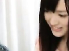 Shy Japanese Girl Gets Naked