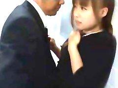 Japonski Par Na Skrivaj Stran Za Seks
