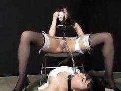 Jap piss female domination 1