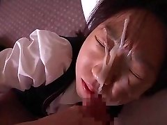Another Doll Recieves Dirty Facial