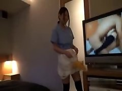 Asian Motel Maid Getting Fucked