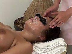 JAV full body bizarre cum facial massage clinic Subtitled