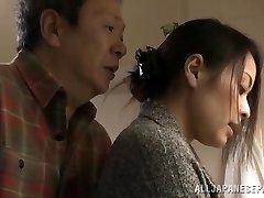 Mina Kanamori molten Asian milf is a horny housewife